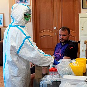Повторные тесты на коронавирус в «Уфе» дали отрицательный результат