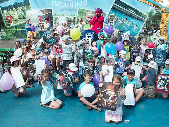 «Зенит» завершает большое путешествие по детским лагерям Ленобласти