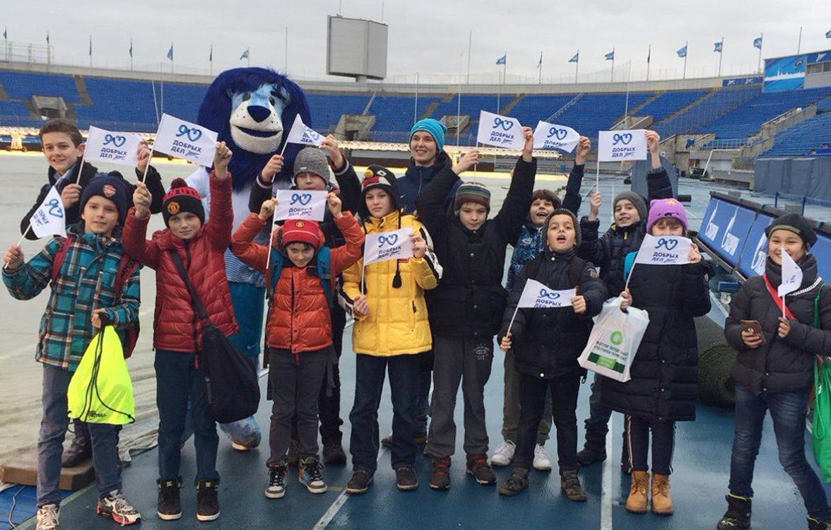 Ученики школы «Альма Матер» побывали на экскурсии по «Петровскому»