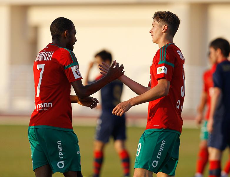 Футболисты «Локомотива» завершили сбор победой