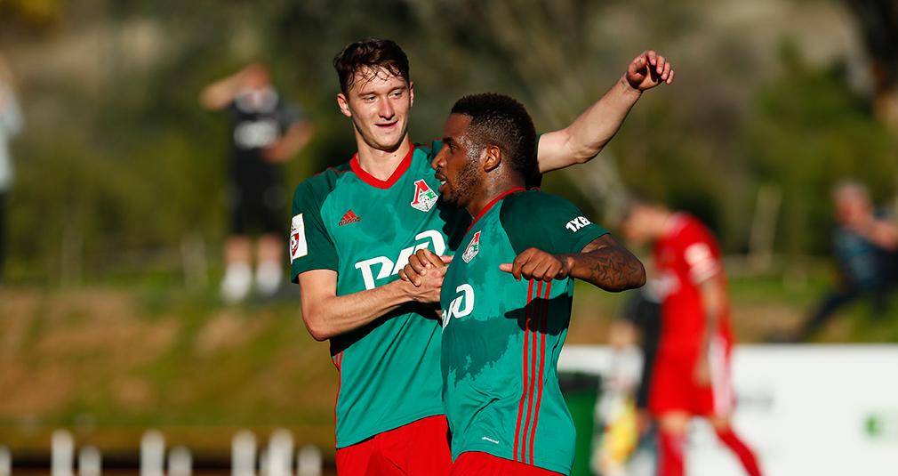 Фарфан забил первый гол «Локомотива» в году