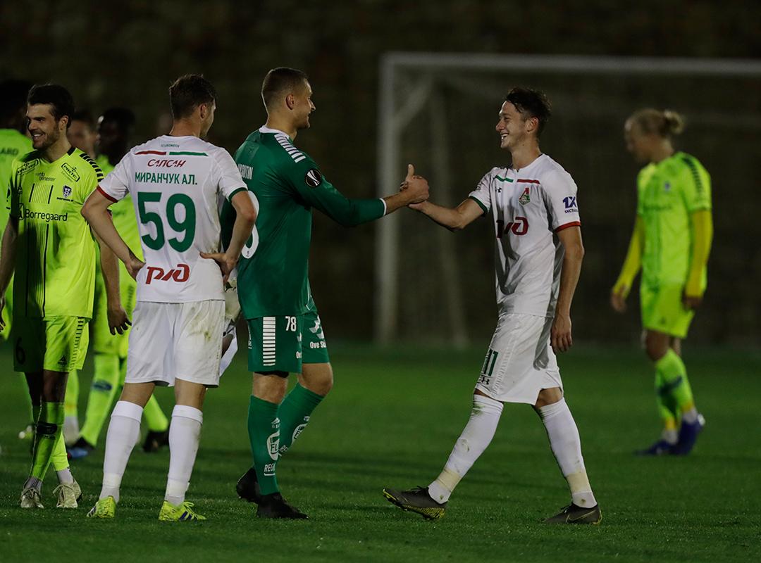 Гол Миранчука принес победу «Локомотиву»