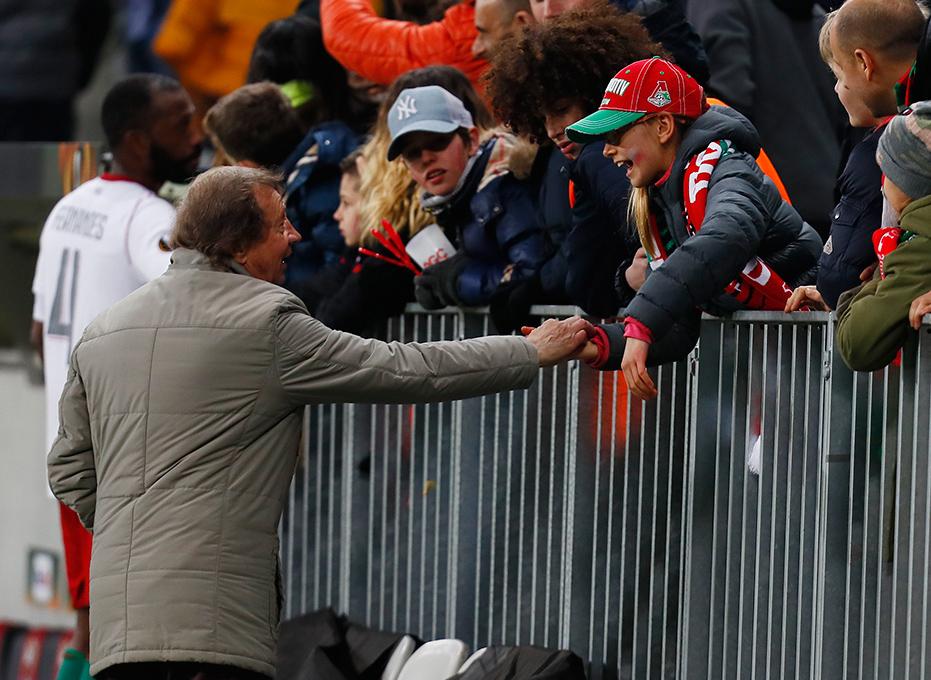 Сёмин: «На стадионе стало больше болельщиков»