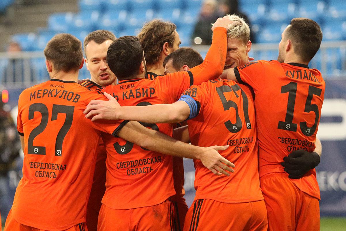 Футболисты «Урала» вновь соберутся 13 января