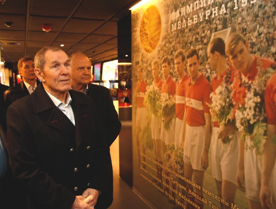 Знаменитые хоккеисты — в музее «Спартака»