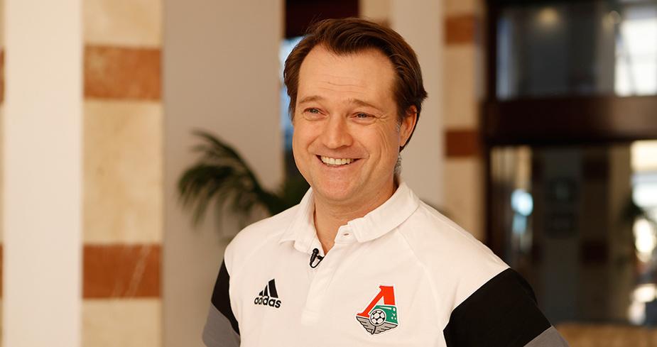 Эрик Штоффельсхаус - спортивный директор «Локомотива»