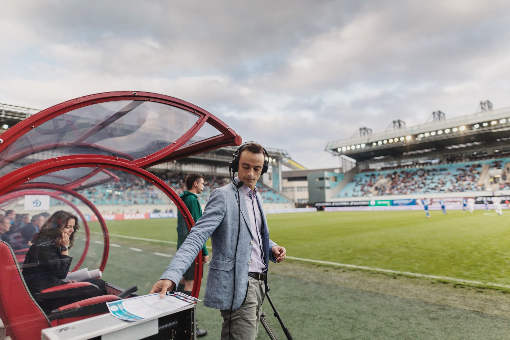 Павел Занозин: «Комментировать футбол – моя самая любимая работа»