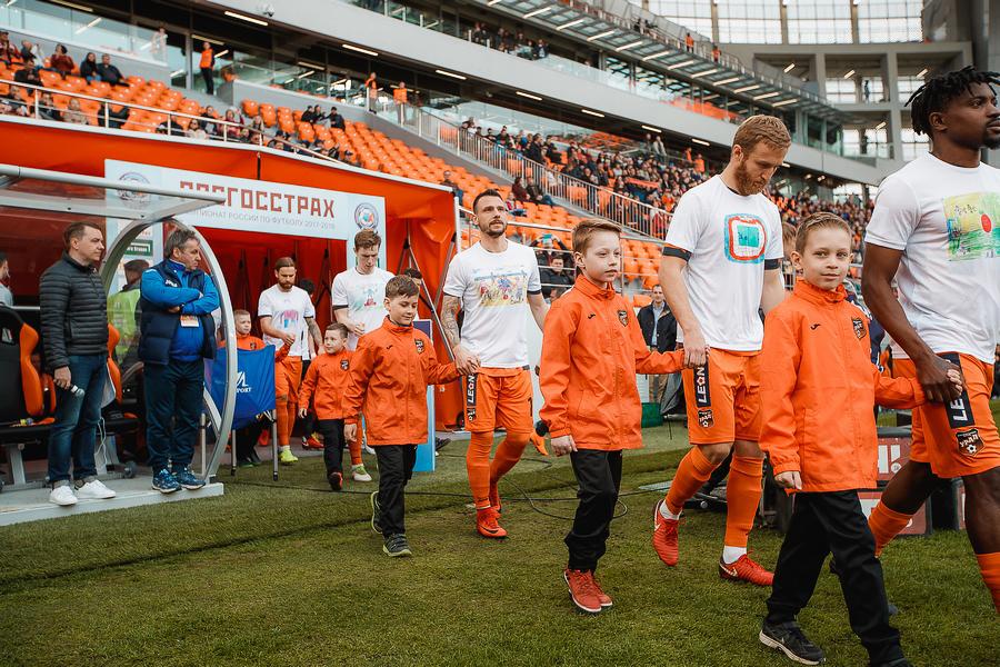 Футболистов «Урала» волнует проблема аутизма