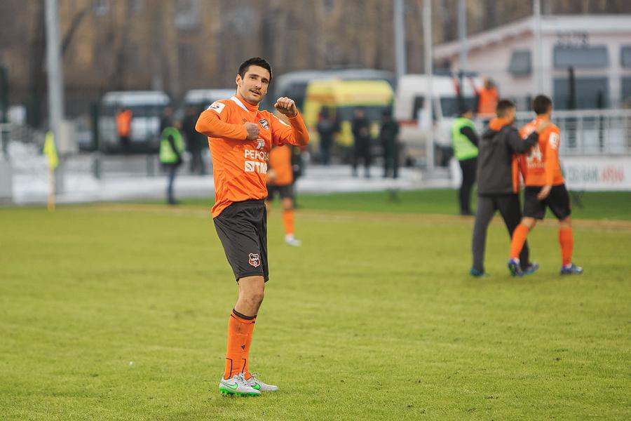 Спартак Гогниев признан лучшим игроком «Урала» по версии болельщиков