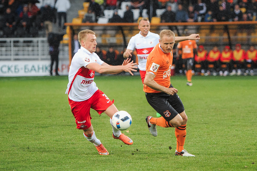 Александр Данцев – лучший игрок «Урала» в мае