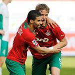 «Локомотив» одержал волевую победу над «Тереком»
