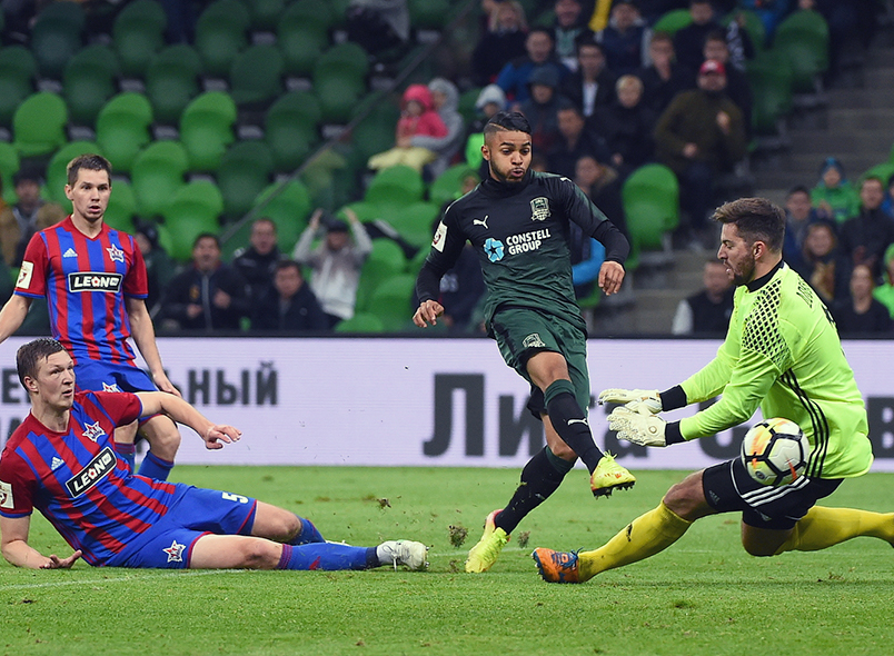 «Краснодар» одержал победу над «СКА-Хабаровск»