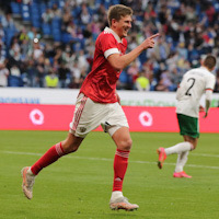 Сборная России обыграла Болгарию в контрольном матче