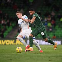 «Динамо» одержало волевую победу над «Краснодаром» благодаря дублю Тюкавина