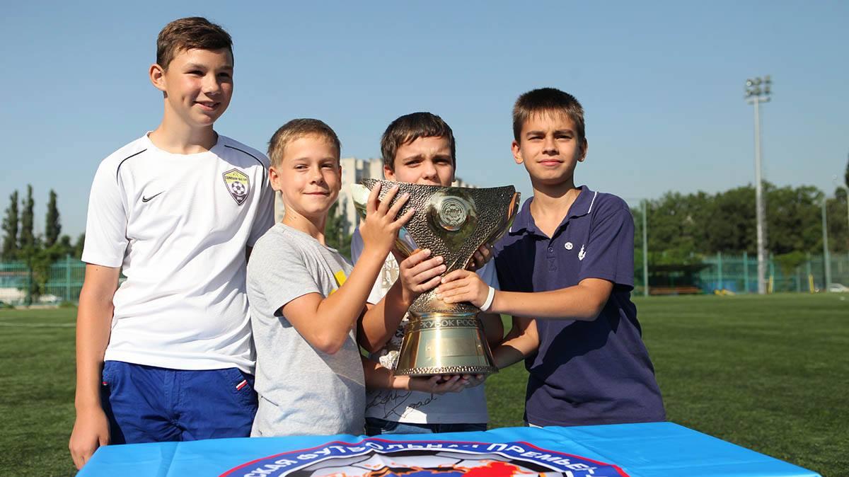 «Неделя футбола» в Краснодаре вызывает большой интерес