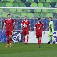 Молодёжная сборная России уступила Дании в третьем туре Евро-2021