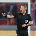 Владислав Безбородов рассудит «Краснодар» и «Спартак»