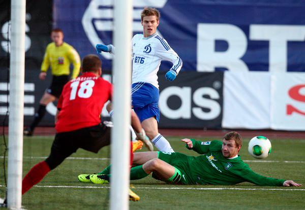 «Динамо» одержало волевую победу в Томске