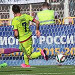 ПФК ЦСКА одержал волевую победу в Саранске