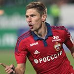 Гол Набабкина принёс победу ПФК ЦСКА