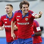 ПФК ЦСКА одержал победу над «Анжи»