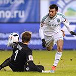 Гол Митришева принёс победу «Тереку»
