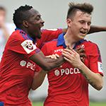 ПФК ЦСКА разгромил «Мордовию»