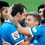 «Зенит» добился крупной победы над «Кубанью»