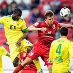 Гол Дарко Лазича принес победу «Анжи»