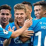 Гол Шатова принёс победу «Зениту»