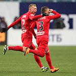 «Енисей» нанёс поражение «Динамо»