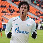 Гол Азмуна принёс победу «Зениту»