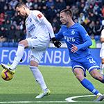 «Оренбург» обыграл «Динамо»