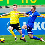 «Анжи» и «Динамо» сыграли вничью