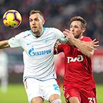 «Локомотив» и «Зенит» сыграли вничью