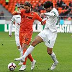 «Урал» и «Локомотив» сыграли вничью