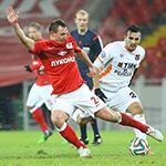 «Спартак» обыграл «Урал» в заключительном матче Премьер-Лиги в 2014 году
