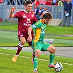 Оздоев принёс победу «Рубину»
