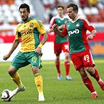 «Локомотив» и «Кубань» сыграли вничью