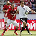 «Спартак» и «Амкар» сыграли вничью