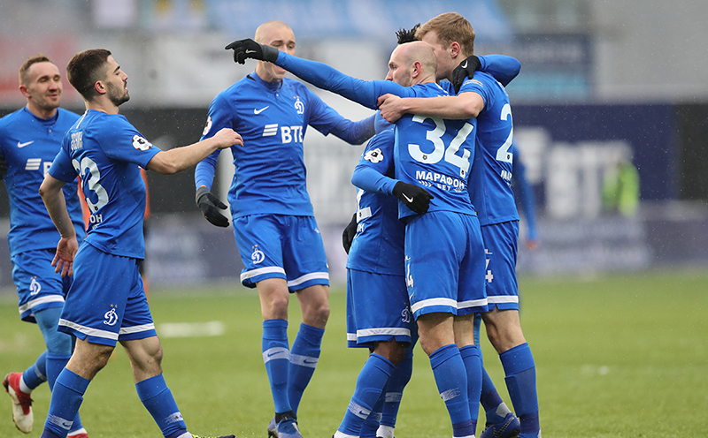 «Динамо» завершило 2018 год разгромной победой