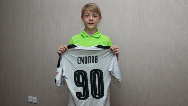 «Крылья Советов» и Федор Смолов исполнили мечту юного футболиста