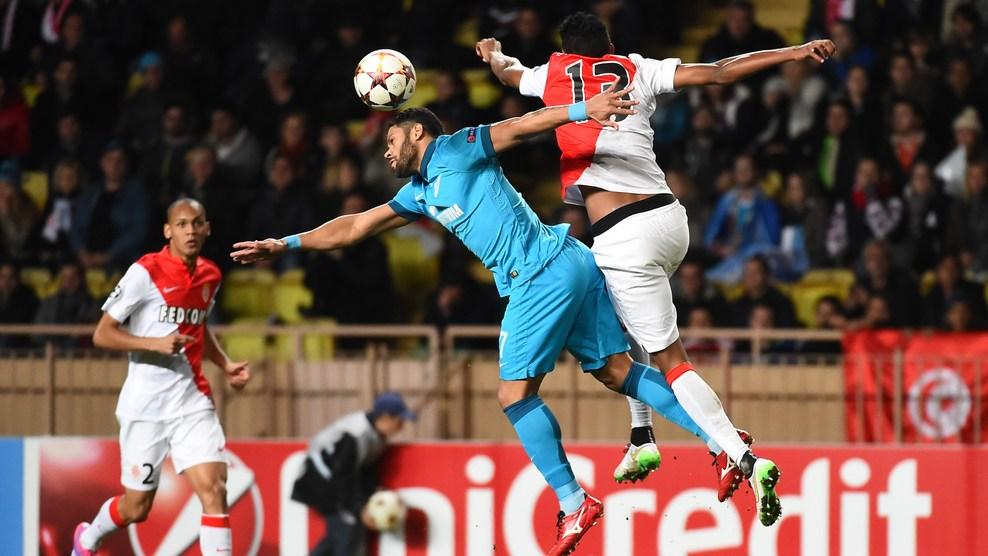 «Зенит» проиграл «Монако» и продолжит выступление в Лиге Европы