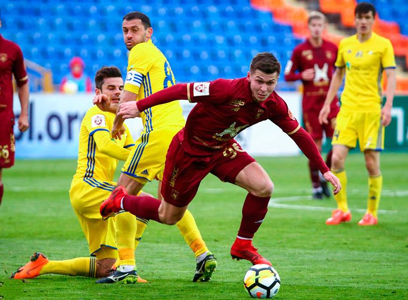 «Рубин» и «Ростов» сыграли вничью