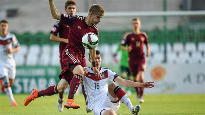 Юношеская сборная России проиграла в полуфинале ЧЕ