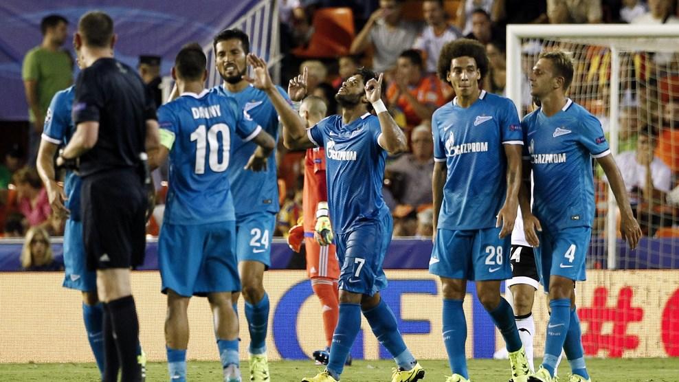«Зенит» одержал победу в стартовом матче группового раунда Лиги чемпионов