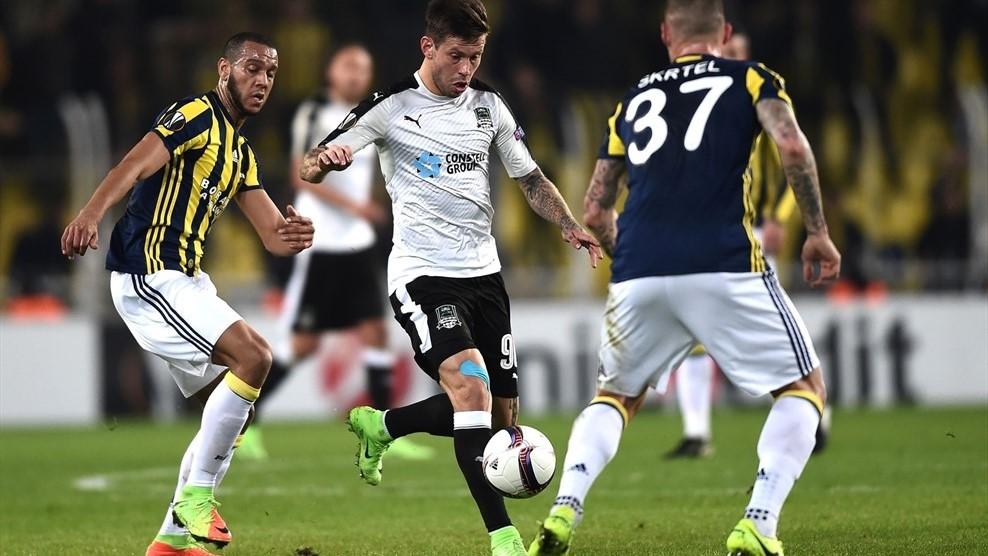 «Краснодар» вышел в 1/8 финала Лиги Европы в день своего девятилетия