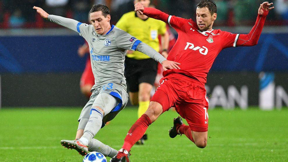 «Локомотив» уступил «Шальке» в Лиге чемпионов