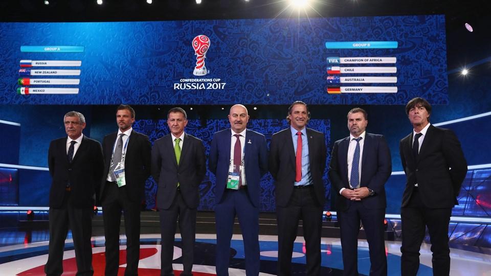 Сборная России сыграет с Португалией, Мексикой и Новой Зеландией
