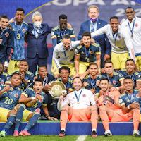 Сборная Колумбии с Барриосом завоевала бронзовые медали Кубка Америки
